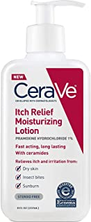 CeraVe Itch Relief Moisturizing Lotion - 8 oz, Pack of 3