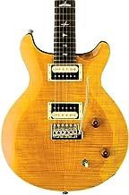 PRS Paul Reed Smith SE Santana Electric Guitar with Gig Bag, Santana Yellow
