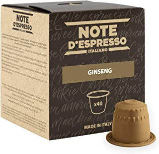Note D'espresso Ginseng, Capsule per ginseng istantaneo,4,3 g x 40 capsule
