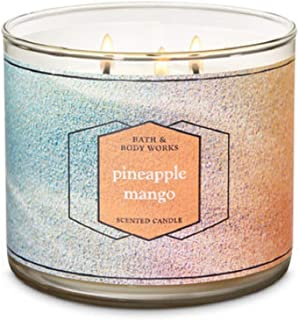 bath and body works pineapple mango candle