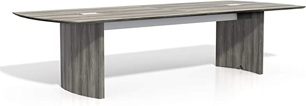Safco Products Medina Table, 10', Gray Steel