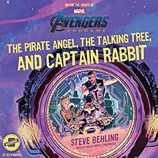 Marvel's Avengers: Endgame: The Pirate Angel, the Talking Tree, and Captain Rabbit                   By:                                                                                                                                 Steve Behling                               Narrated by:                                                                                                                                 Nolan North                      Length: 2 hrs and 38 mins     Not rated yet     Overall 0.0