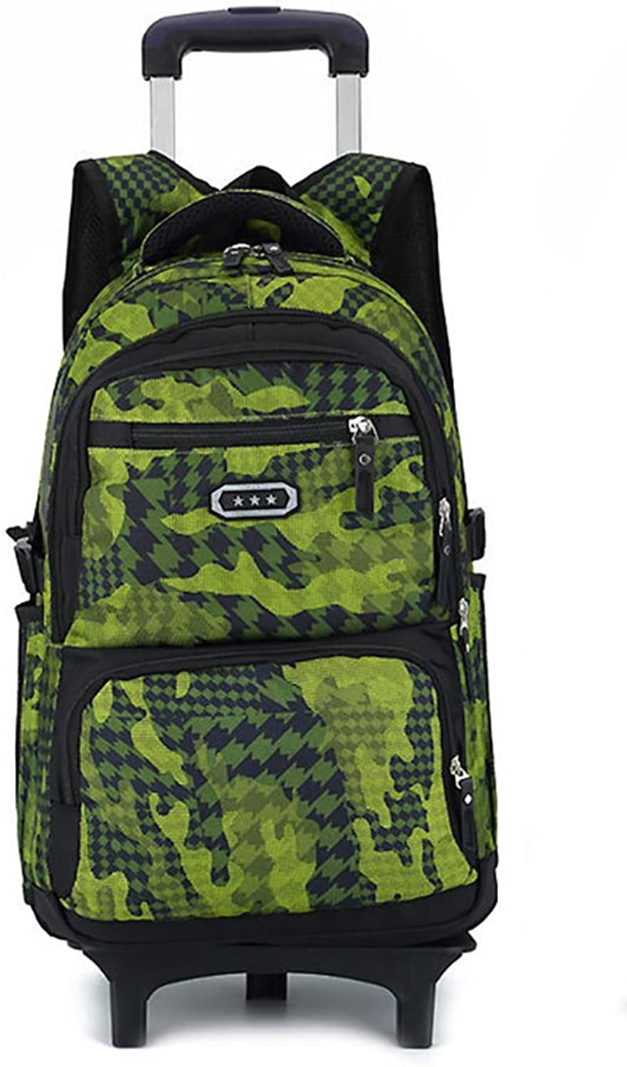 Meetbelify Trolley School Bags Backpack for Boys with Wheels