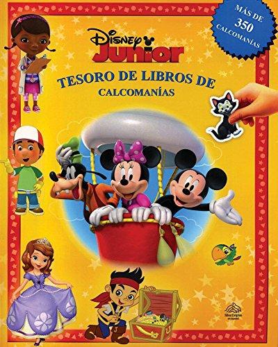 Tesoro de libros de calcomanías: Disney junior