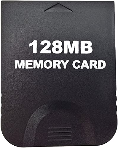Aoyoho Black 128MB Gaming Memory Card Compatible Wii and Gamecube