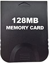 Aoyoho Black 128MB Gaming Memory Card Compatible for Wii and Gamecube