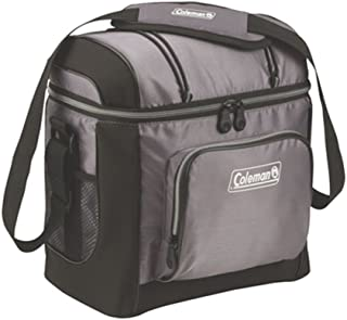 Coleman 16-Can Soft Cooler with Removable Liner, Grey