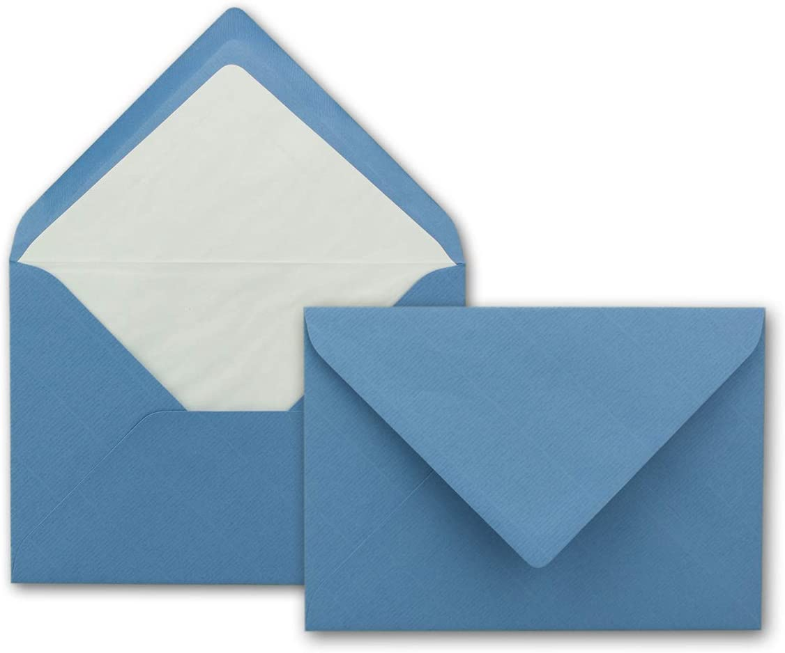 Enveloppes B6/ /Bleu ciel 125/x 176/mm avec doublure int/érieure 25 St/ück bleu ciel