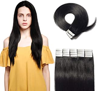 Tape in Hair Extensions 100g 100% Remy Human Hair 16