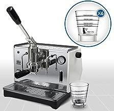Independiente, M/áquina espresso, 1,6 L, De caf/é molido, 1000 W, Oro la Pavoni Professional PRG Independiente Semi-autom/ática M/áquina espresso 1.6L 16tazas Oro Cafetera