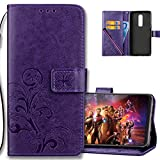 COTDINFORCA Case for OnePlus 6 Wallet Case Leather Premium PU...