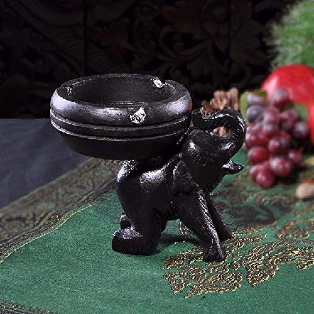 シンジケート影響力のあるメイエラCLJ-LJ 黒灰皿広告灰皿のようなジュエリーアートクラフト灰皿4インチの富