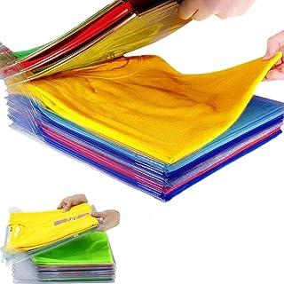 Nifogo T-Shirt de Taille Normale Organisateur de t-Shirt, Organiseur de placards, Organiseur de Vêtements Placards, Organi...