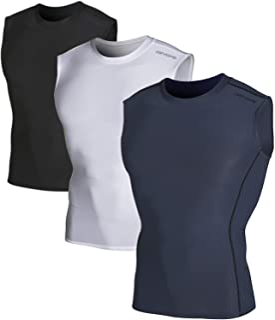 Sponsored Ad - DEVOPS 2~3 Pack Men`s Athletic Compression Shirts Sleeveless