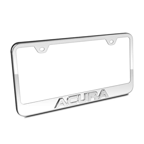 Gold License Plate Frame With Gold Cover: Amazon.com