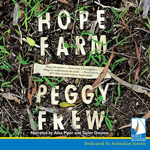 Hope Farm audiobook cover art
