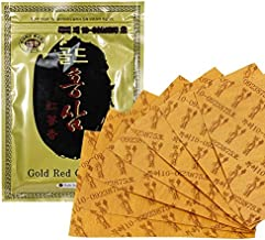 Gold Red Ginseng Hot Pad Patch 1PACK(20ea)/Sheet Tape Pain Relief/Korean Made (12PACK)