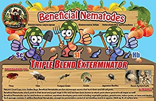 NaturesGoodGuys 30 Million Live Beneficial Nematodes Hb+Sc+Sf