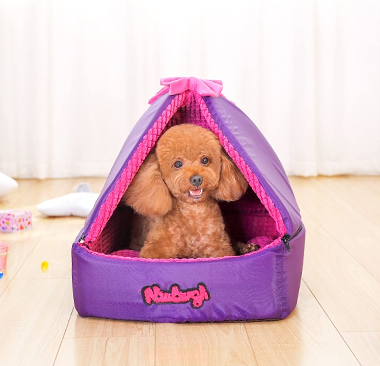 Huangyingui Pet Purple Room, Available In Three Sizes (Size   M40  40  44CM)