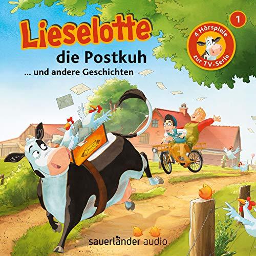 Lieselotte die Postkuh cover art