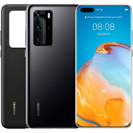 Huawei P40 Pro (5G) ELS-NX9 Dual/Hybrid-SIM 256GB Factory Unlocked Smartphone (Black) - International Version