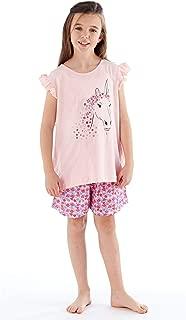 undercover lingerie Girls Kids Childrens Jersey Short Sleeve Short Sleep Pyjamas Nightwear PJs