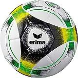 Erima Unisex– Erwachsene Hybrid Lite 350 Fußball, Green/schwarz/gelb, 5