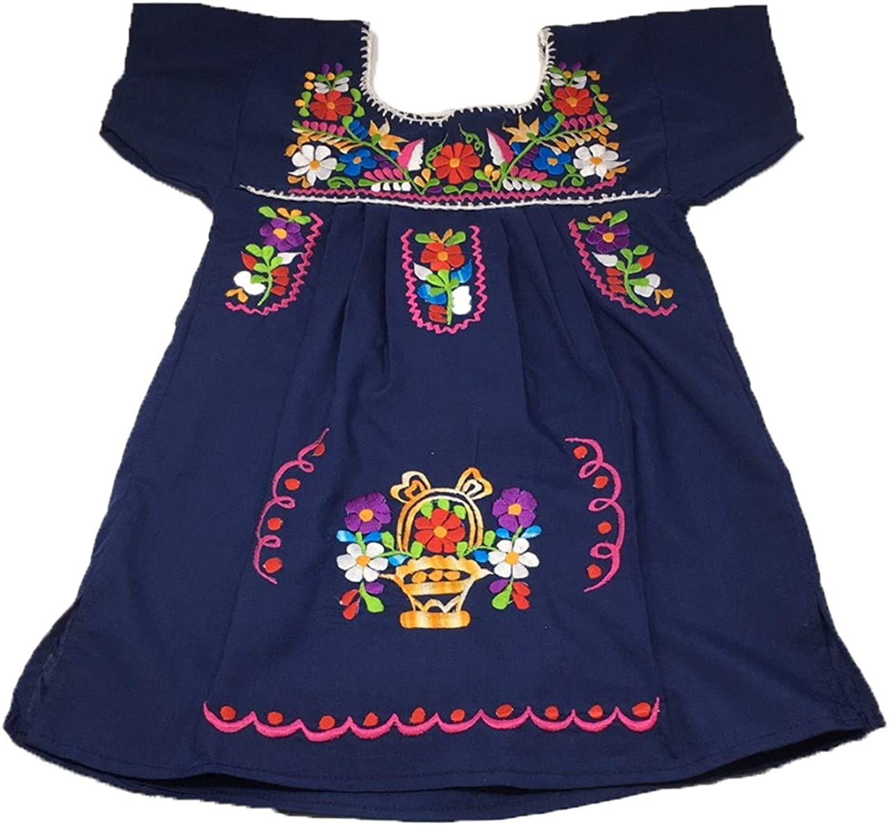 Mexican Clothing Size New life 2 Baby Tehuacan Color Dress Girls Cheap super special price