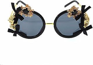 女性 サングラス メタル ちょう結び バロック 偏光 ビーチ サングラス, ファッションサングラス