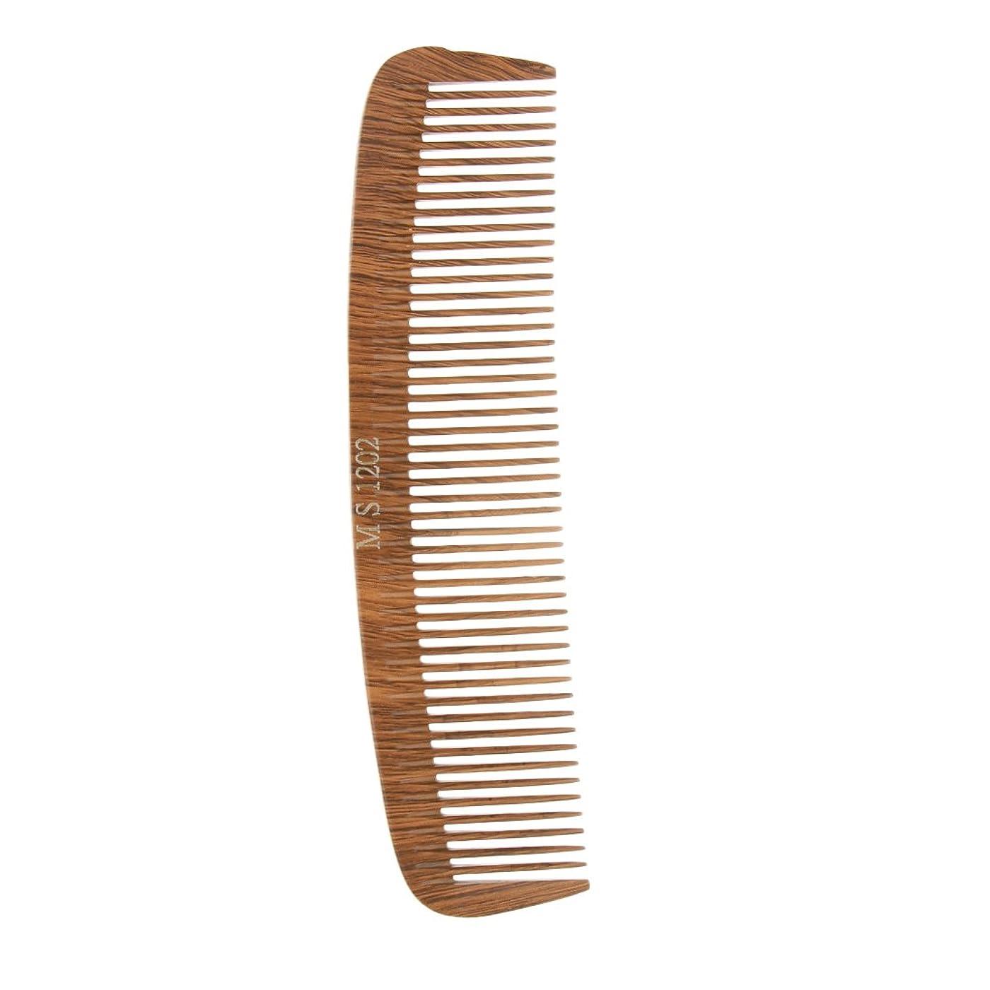 ネーピアバラ色対Baosity ヘアカットコーム コーム 木製櫛 帯電防止 4タイプ選べる - 1202