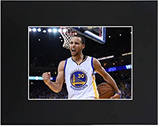 Golden State Warriors Stephen Curry 2018 NBA finals Size 8x10 wtih Matted Print Printed Picture Photograph Gift Wall Decor Display USA Seller