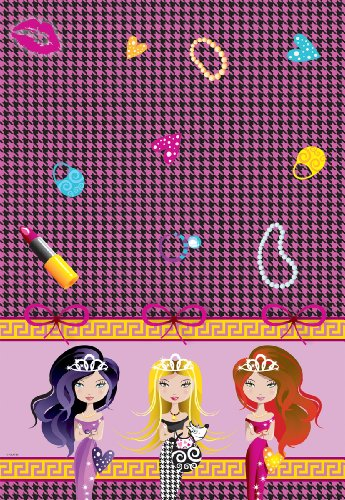 Folat Nappe « Glam Girls Party 130 x 180 cm