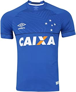 Camisa Cruzeiro I 18/19 s/n - Jogador Umbro Masculina