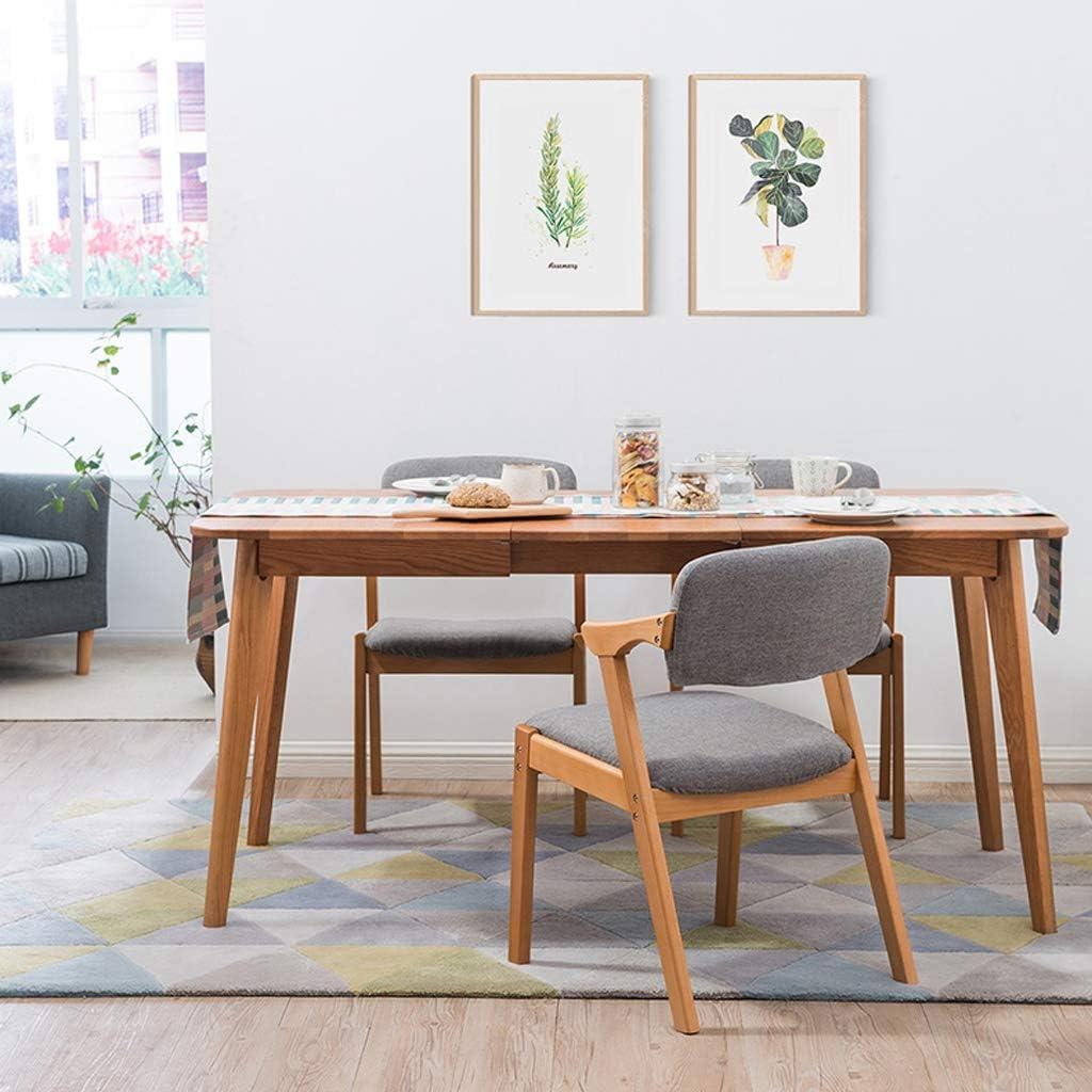 PRIDE S Chaise de Salle à Manger, Chaise de Bureau, Dossier créatif, Chaise de Loisirs, Chaise de Salle à Manger pour Adulte, Chaise de Maison Gris Foncé