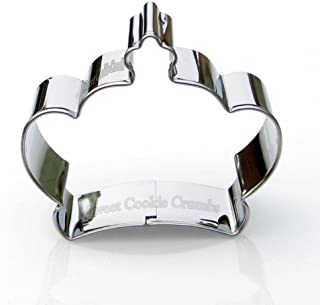 King Crown Cookie Cutter- Stainless Steel