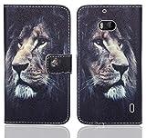 FoneExpert® Nokia Lumia 930 Handy Tasche, Wallet Hülle Flip Cover Hüllen Etui Ledertasche Lederhülle Premium Schutzhülle für Nokia Lumia 930 (Pattern 4)