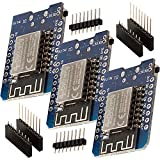 ✔️ Sichern Sie sich jetzt drei D1 Mini NodeMcu mit ESP8266-12F zum Vorteilspreis mit Mengenrabatt! ✔️ Der AZ-Delivery D1 mini ist ein Mini-NodeMcu WiFi Board basierend auf einem ESP-8266-12F. Dieses WLANboard enthält 11 digitale Ein- / Ausgangspins, ...