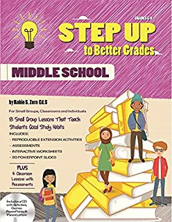 STEP UP to Better Grades - Middle School (with CD)