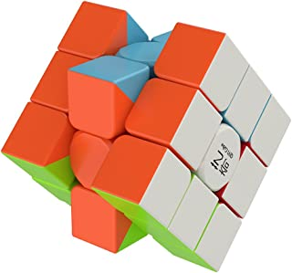 Smart High Speed Cube [IQ Tester] 3x3 Magic Speed Cube - Anti Stress for Anti-Anxiety Adults Kids - Best High Speed Puzzle Toy Turns Quicker and More Precisely