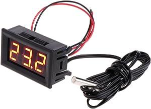 Aawsome -50 ~ 110 °c Digital LED Termómetro DC 5-12V Panel de Temperatura del Coche Medidor Medidor