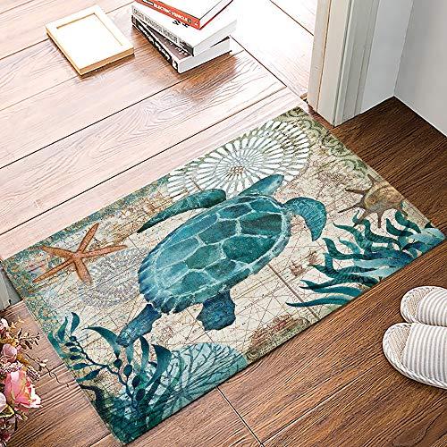 Turtle Mat-Olive Dee Hardwicke Nouveau 60 cm x 85 cm-Latex Multigrip soutien