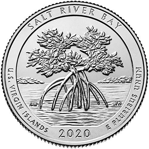 2020 S Bankroll of 40 – Salt River Bay National Historical Park, VI Uncirculated