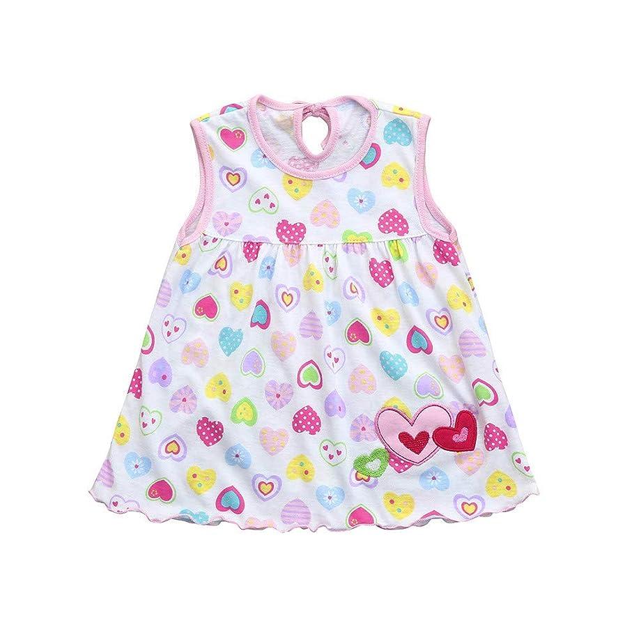 相対的エレクトロニック概してキッズ服 ドレス Jopinica 1ヶ月~1歳 夏ノースリーブ水玉プリントタンクトップワンサイズドレス 17色選択普段着 シンプル お嬢様の記念日 誕生日 子供の日 通園通学 記念写真撮影