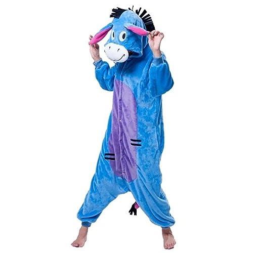 58542745801e WOWTOY Unisex Adult Onesies Animal Cosplay Costume Halloween Xmas Pajamas