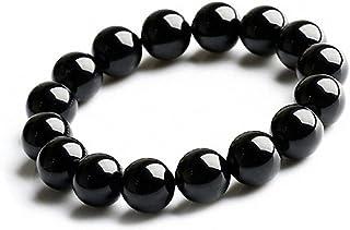 天然石 黒瑪瑙 オニキス 数珠 厄除け 魔除け 上質 浄化用さざれ パワーストーン ブレスレット