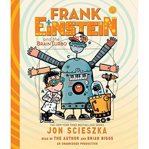 Frank Einstein and the BrainTurbo cover art