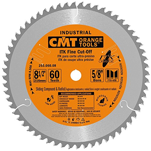 CMT  8-½ -Inch ITK Sliding Compound Miter Saw Blade