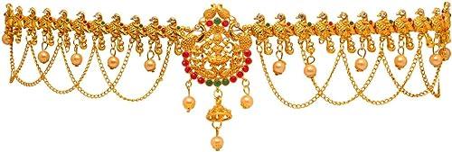 Gold Alloy Kamarband for Women