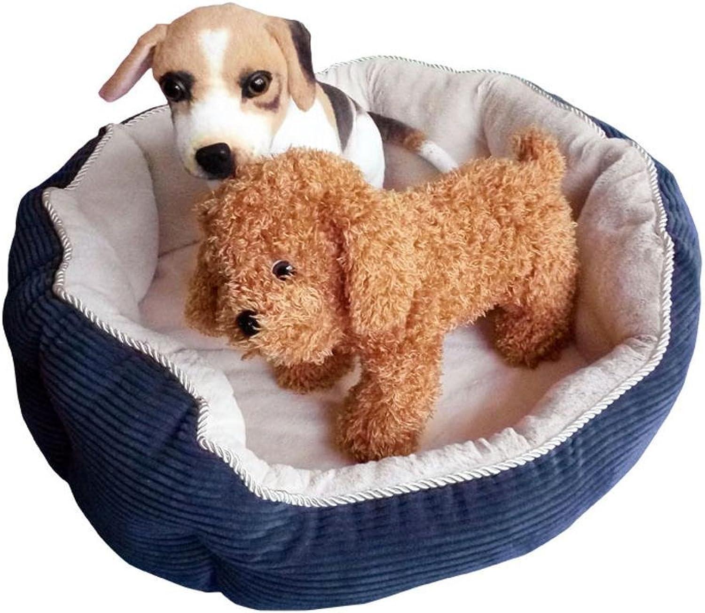 Aoligei Round Autumn and Winter Warm pet nest Short Plush pp Cotton 65  20cm Perfect for Sunbathing mat, Nap&Sleeping Bed