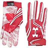 Under Armour American Football Handschuh Swarm II, rot M